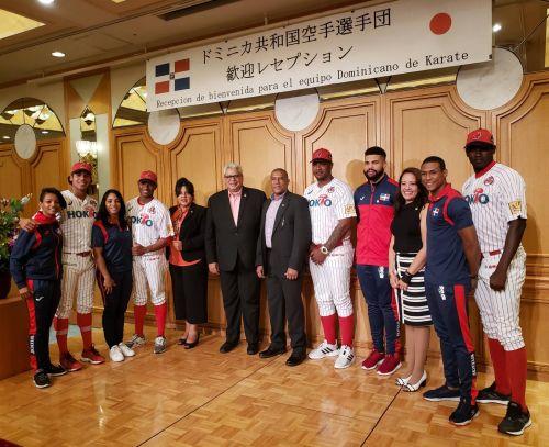 ドミニカ共和国空手選手歓迎レセ...